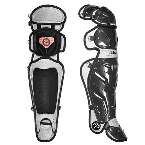 """All-Star Adult System 7 AXIS 17.5"""" Leg Guards"""