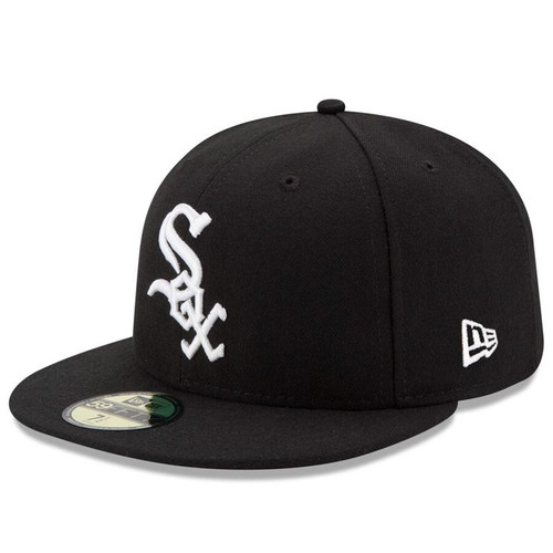 Chicago White Sox New Era Black Game Authentic Collection On-Field 59FIFTY Fitted Hat