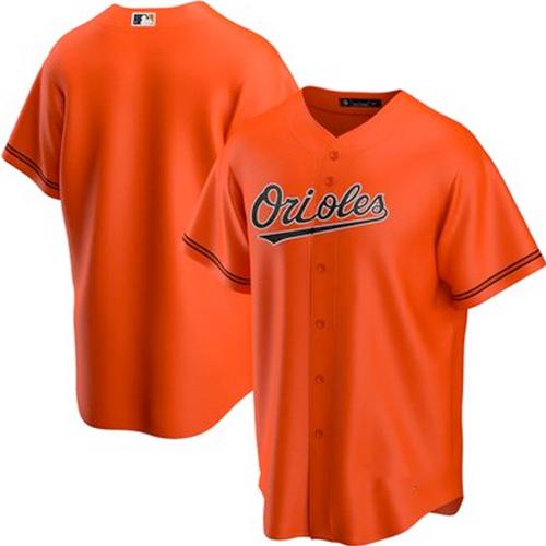 Men's Baltimore Orioles Orange Alternate 2020 Replica Team Jersey