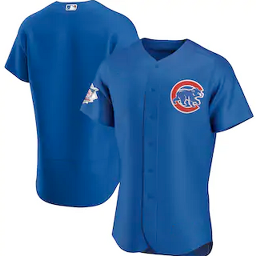 Men's Chicago Cubs Royal Alternate 2020 Replica Team Jersey