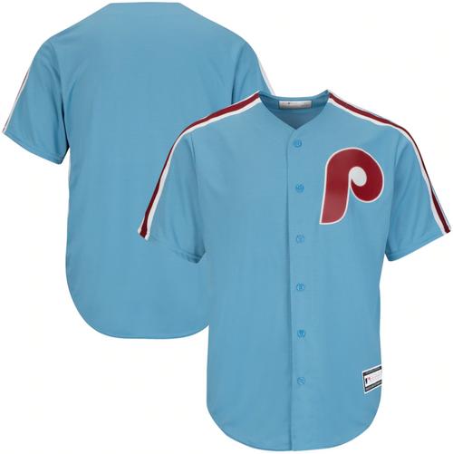 Men's Philadelphia Phillies Light Blue Replica Team Jersey