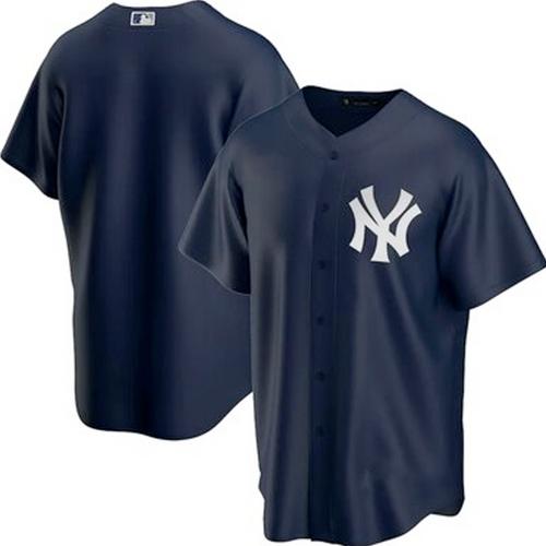 Men's New York Yankees Navy Alternate 2020 Replica Team Jersey