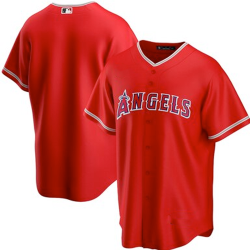 Men's Los Angeles Angels Red Alternate 2020 Replica Team Jersey