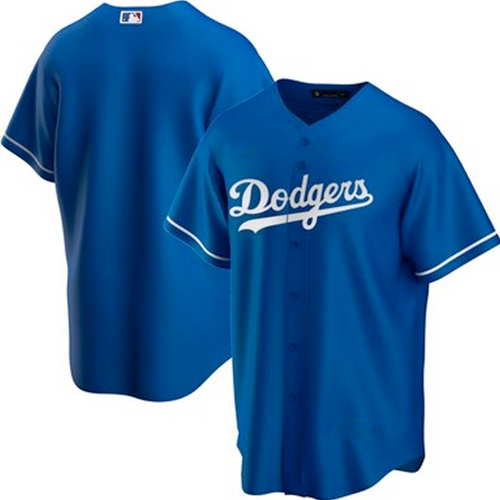 Men's Los Angeles Dodgers Royal Home 2020 Replica Team Jersey