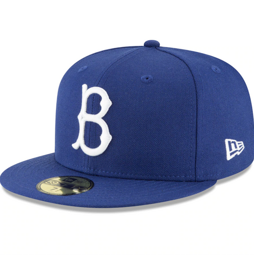 Brooklyn Dodgers New Era Cooperstown Collection Wool 59FIFTY Fitted Hat - Royal