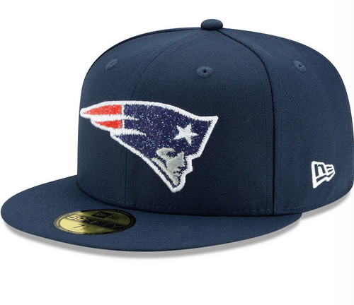 New Era New England Patriots Navy Sideline NETECH 59Fifty Fitted Hat