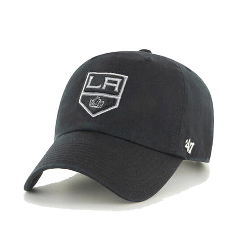 47' Brand Los Angeles Kings Black Cleanup Adjustable Hat