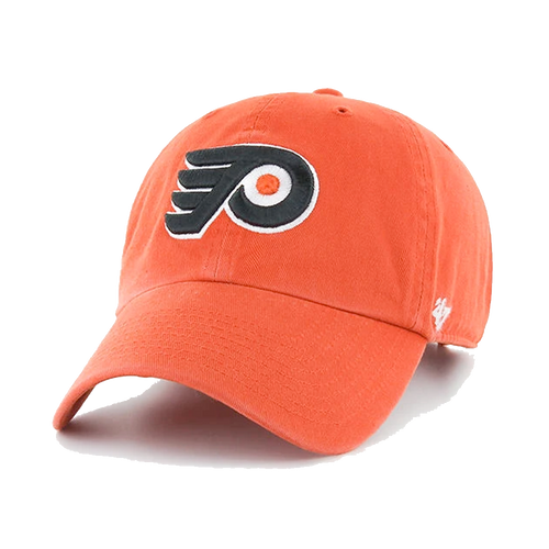 47' Brand Philadelphia Flyers Orange Cleanup Adjustable Hat