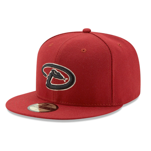 New Era Arizona Diamondbacks Maroon Game On-Field 59Fifty Fitted Hat