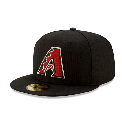 New Era Arizona Diamondbacks Black Alternate On-Field 59Fifty Fitted Hat
