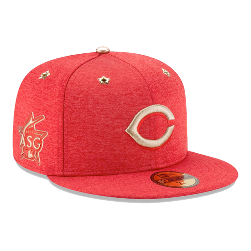 New Era Cincinnati Reds ASG Patch 2017 Authentic On-Field 59Fifty Fitted Hat