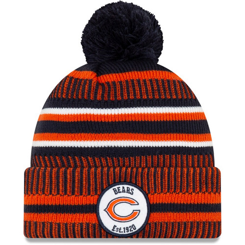 Chicago Bears New Era 2019 Sideline Knit Hat