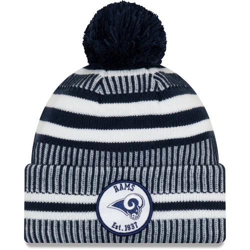 Los Angeles Rams 2019 New Era Sideline Knit Hat