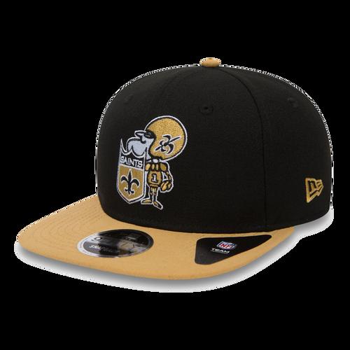 New Era New Orleans Saints Black/Gold Team Baycik 9Fifty Snapback Hat
