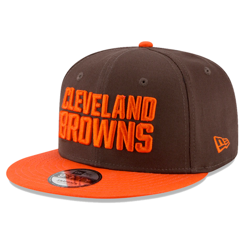 New Era Cleveland Browns Brown/Orange Team 9Fifty Snapback Hat