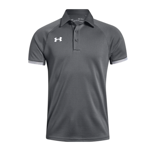 Under Armour Youth Graphite Rival Polo