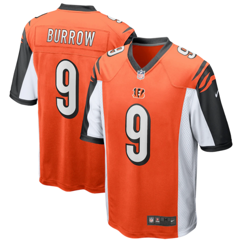 Joe Burrow Cincinnati Bengals Nike 2020 NFL Draft First Round Pick Game Jersey - Orange