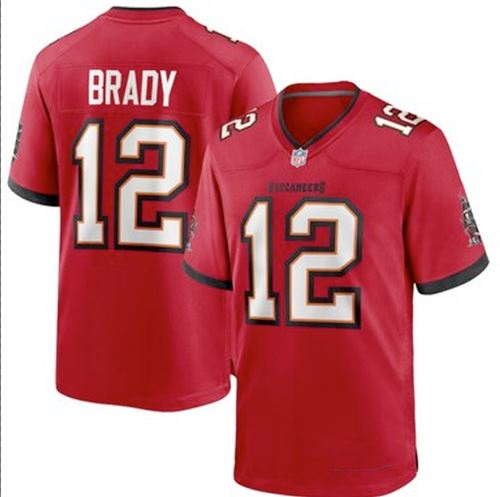 Youth Nike Tampa Bay Buccaneers Tom Brady Red Game Jersey