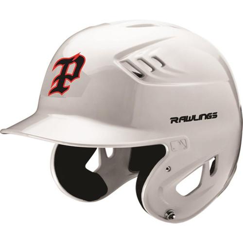 PYO Patriots Rawlings COOLFLO Clear Coat CFABHN Batting Helmet