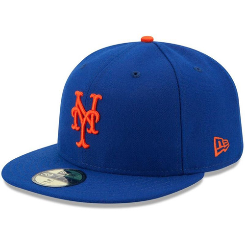 New York Mets New Era Royal Authentic Collection On Field 59FIFTY Fitted Hat