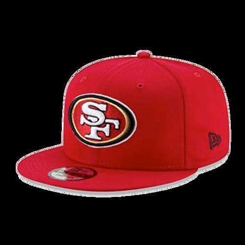 New Era San Francisco 49ers Team Baycick 9Fifty Snapback Hat
