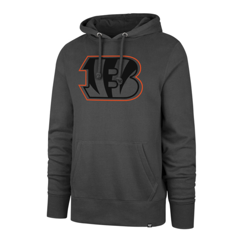 Cincinnati Bengals '47 Brand Men's Charcoal Pop Imprint Headline Hoodie