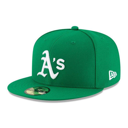 Oakland Athletics New Era Green Alt Authentic Collection On-Field 59FIFTY Fitted Hat