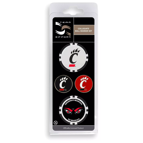 Cincinnati Bearcats Ball Marker Set