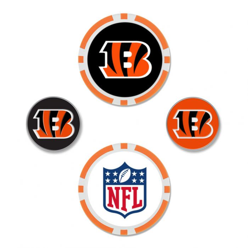 Cincinnati Bengals Ball Marker Set
