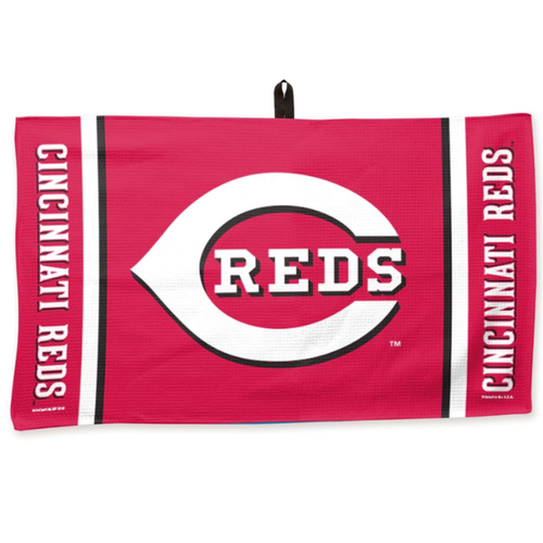 Cincinnati Reds Waffle Golf Towel