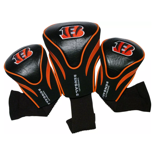 Cincinnati Bengals 3-Pack Golf Club Headcovers