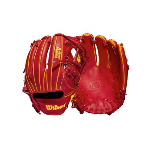 "Wilson 2021 A2K OA1 GM Ozzie Albies Game Model 11.5"" Baseball Glove"