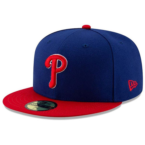 Philadelphia Phillies New Era Royal/Red Alternate Authentic Collection On-Field 59FIFTY Fitted Hat