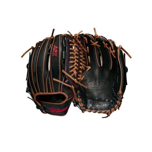 """Wilson 2021 A2K D33SS SuperSkin 11.75"""" Baseball Glove"""