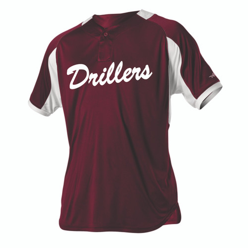 Alleson 50b1b Screen Printed Baseball Jersey