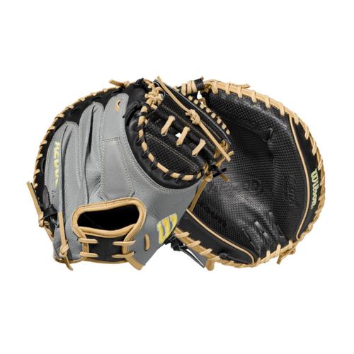 """Wilson 2021 A2000 SCM1DSS Spin Control 33.5"""" Baseball Catcher's Mitt"""