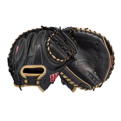 """Wilson 2021 A2000 M1DSS SuperSkin 33.5"""" Baseball Catcher's Mitt"""