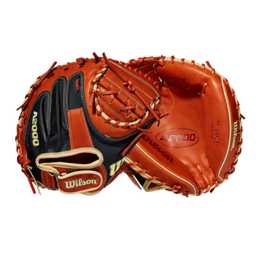 "Wilson 2021 A2000 1790SS SuperSkin 34"" Baseball Catcher's Mitt"