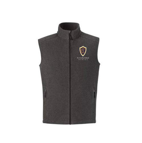 St. Cecilia Youth Full Zip Fleece Vest