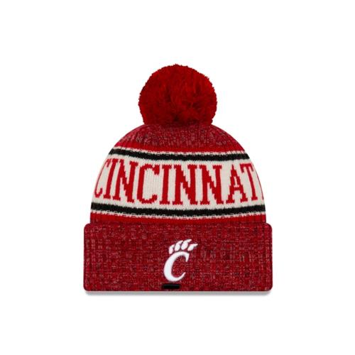 Cincinnati Bearcats New Era Sport Knit Hat with Pom