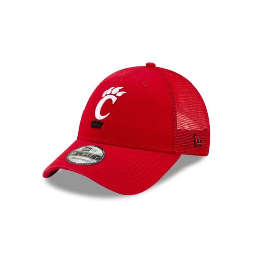 Cincinnati Bearcats New Era Red Trucker 9FORTY Adjustable Snapback Hat