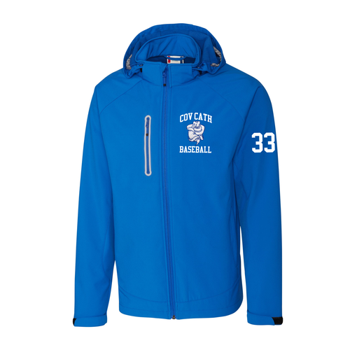 Cov Cath Baseball Royal Player's Jacket