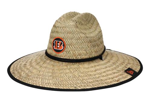 Cincinnati Bengals New Era 2021 NFL Training Camp Official Straw Lifeguard Hat – Natural