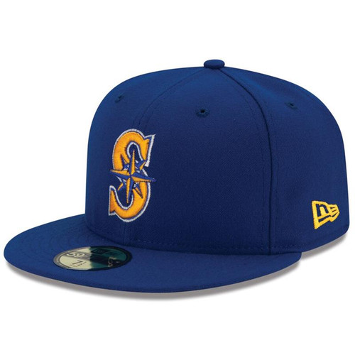 Seattle Mariners New Era Royal Alternate 2 Authentic On Field 59FIFTY Fitted Hat