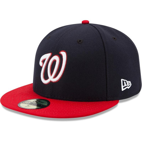 Washington Nationals New Era Navy/Red Alternate Authentic Collection On-Field 59FIFTY Fitted Hat