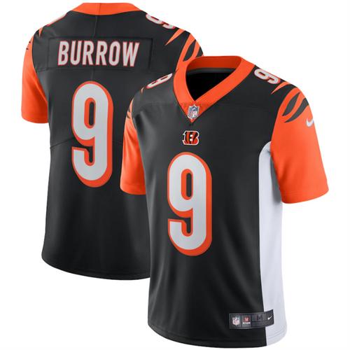 Joe Burrow Nike Black Cincinnati Bengals Vapor Limited Jersey