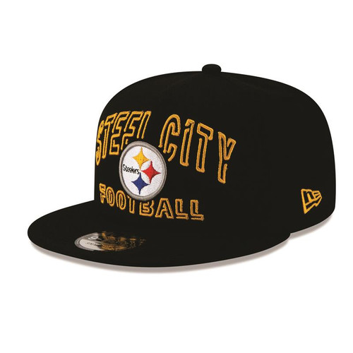 2020 Pittsburgh Steelers 2020 New Era Draft Day Alt. Snapback Hat