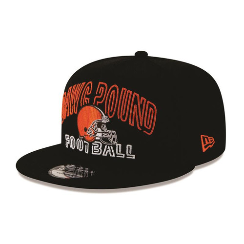 2020 Cleveland Browns New Era Draft Day Alt. Snapback Hat