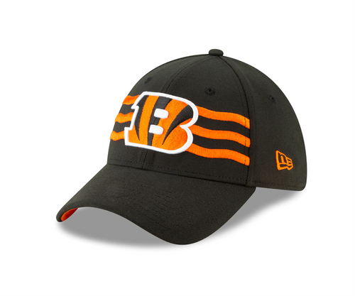 Cincinnati Bengals New Era 2019 NFL Draft On-Stage Official 9FORTY Adjustable Hat - Black