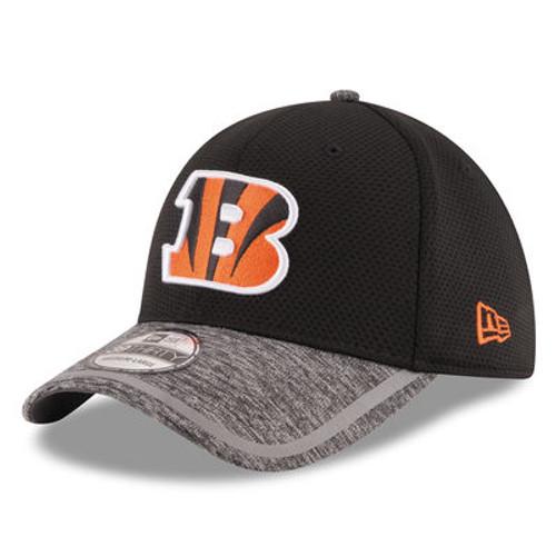 Cincinnati Bengals New Era Black 2016 On Field Training Camp 39THIRTY Flex Hat